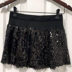 Black sequins skirt 🖤